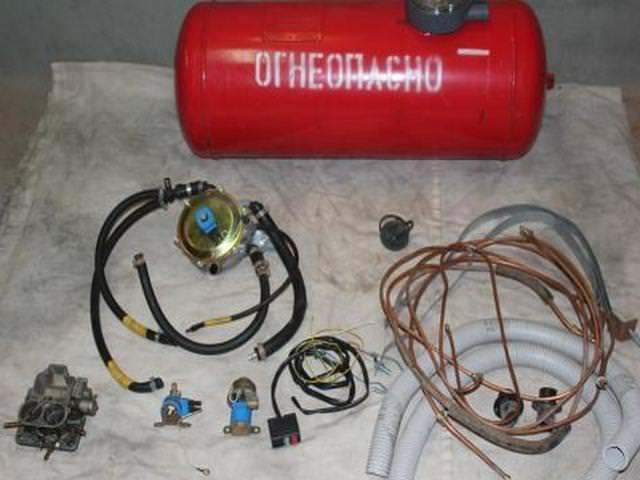 Комплект газового оборудования для карбюраторных двигателей