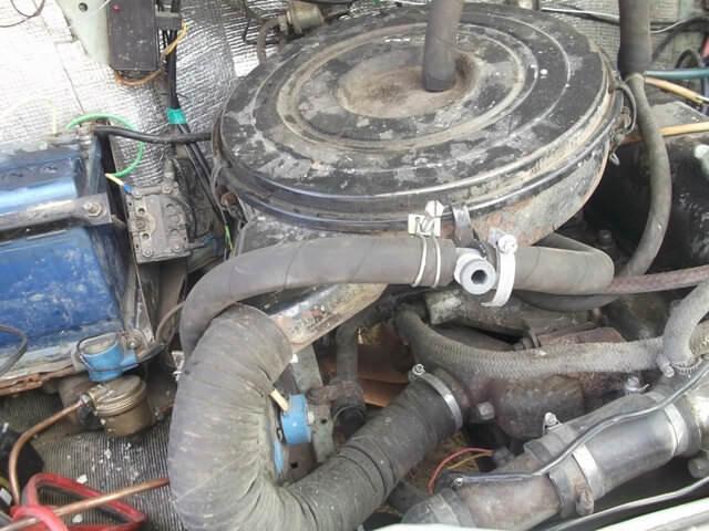 Магистральный клапан ГБО, установленный в машину