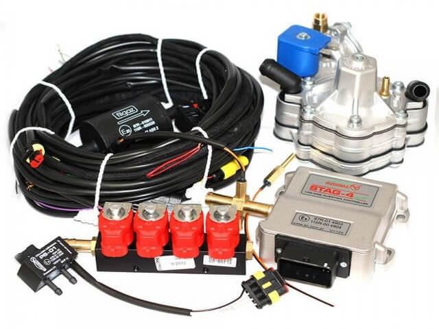 Комплект гбо 2 поколения на инжектор