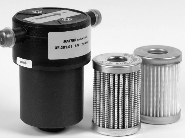 Фильтр тонкой очистки газа с отстойником фирмы Матрикс