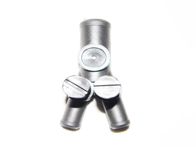Дозатор газа с двумя регулировочными винтами