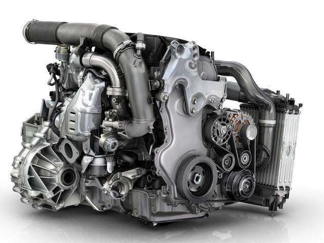Дизельный двигатель с двумя турбинами