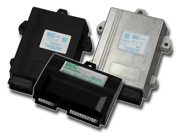 Разные электронные блоки управления для газобаллонного оборудования