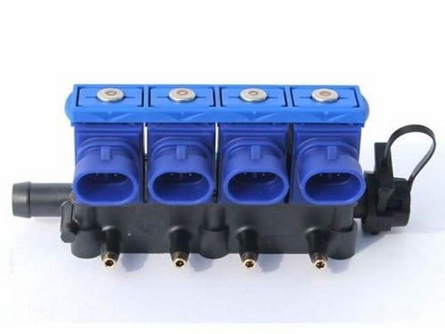 Форсунки для подвода газа в композитном пластиковом корпусе