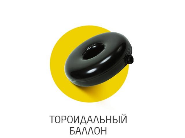 Тороидальный (в форме бублика) баллон
